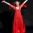 Piia red dress